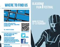 Leaflet for Glasgow Film Festival Brief