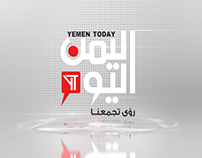 Yemen today TV Identity