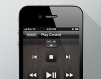 Clear.fi Remote App UI Design @Acer