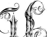 """""""H"""" / Tattoo Design"""