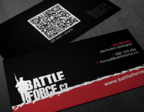 business card BattleForce.cz