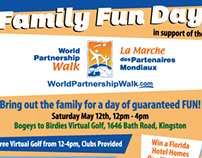 Promotional Materal - Bogeys to Birdies Family Fun Day