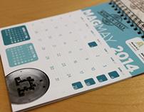 """""""Made in Italy"""" - Calendario 2014 Alumat e Almax Mori"""