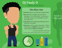 Jersey Shore Hair Infographic