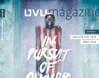 UVU Magazine Olympics Cover
