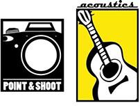 Logo Prototypes - Acoustic/Point & Shoot