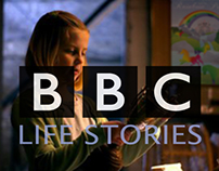 BBC Life Stories - Poster & Set Dressing