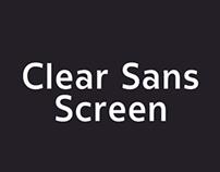 Clear Sans Screen