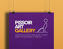 poster PISSOIR ART GALLERY