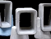 Innovative line of concrete furniture