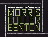 Libro Maestros Tipográficos