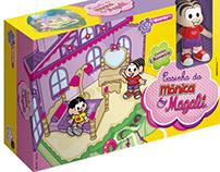 Embalagem Casinha da Mônica e Magali - Big Star