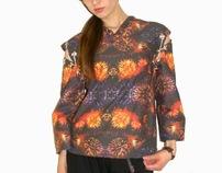 (College Portfolio) Interpretive garment design