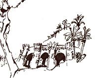 Vacation Sketching Barcelona 2013