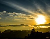Amanecer en Quito (Sunrise in Quito)
