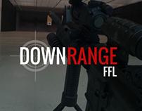 Down Range FFL Logo Development