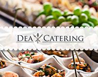 Dea Catering - Web Design