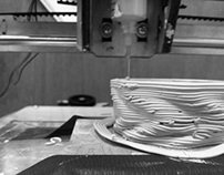 Material Explorations with Rapid 3D Prototyping