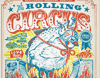 The Rolling Circus Cup / Poster