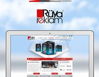 Rüya Reklam Web Desing