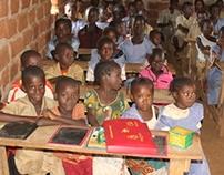 HABITAT IN DAMARO. PRIMARY SCHOOL IN N'BANIDOU
