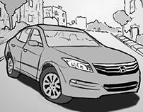 Honda Vibrate Storyboards