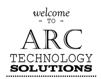 Typography Wall Design for ARC Technology Solutions