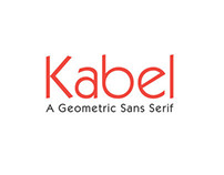 Kabel Typeface Study