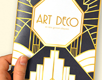 Art Deco Brochure