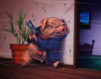 Commissioner pig