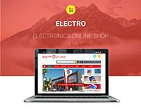 Electro Website