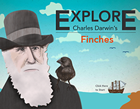 Explore Charles Darwin's Finches