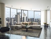 AU luxury apartment.