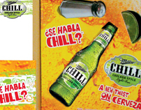 Miller Chill Packaging