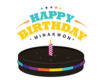 Happy birthday Mina Kwon!