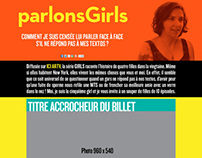 Blogue / ParlonsGirls.ca