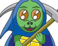 Turtle-Reaper Mascot
