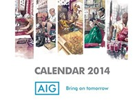 AIG MALAYSIA - CALENDAR 2014