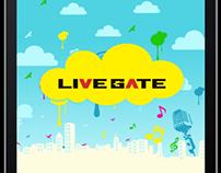 LiveGate Tokyo iOS App
