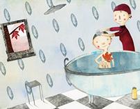 Das rote Blatt - Children's Book