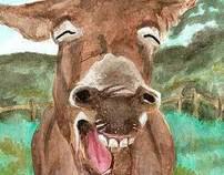 Laughing Donkey