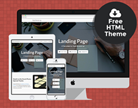 Landing Page - Free Bootstrap HTML Theme