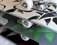 Series of skateboard designs