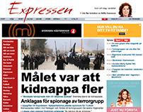 Redesigning Expressen.se