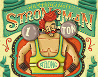 Strongman: Hand-lettering Poster