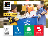 Redesign: Pikitup Website