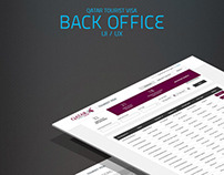 Qatar Visa - Back Office - UI / UX