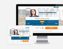 Lainasto - Website