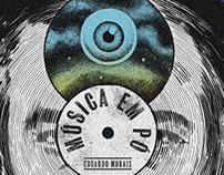 """Poster for documentary """"Música em Pó"""""""