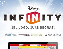 Disney Infinity - Hotsite Promocional RiHappy